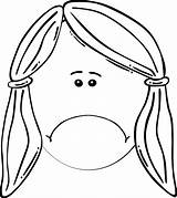 Face Sad Outline Clip Clipart Happy Line Coloring Boy Cliparts Svg Clker Vector Royalty Mother Library Clipartmag Arts sketch template