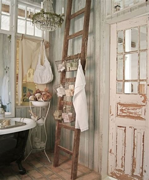 home dzine bathrooms decorate in shabby chic style