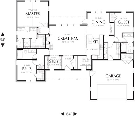 house plan layouts featured house plan pbh 3153 professional builder