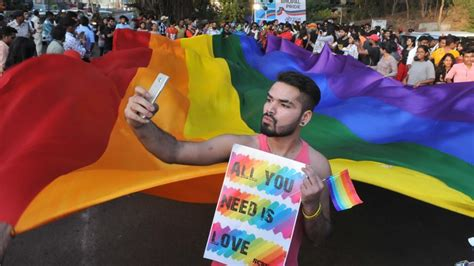 Lgbt Activists Take Over The Streets Of Bhopal India