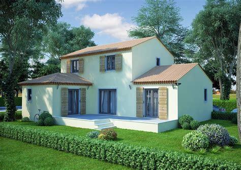 maison en l de 130m2 lavande traditionnel azur logement proven 231 al