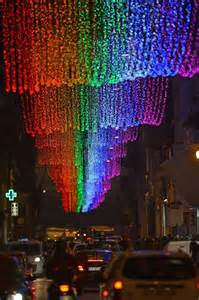 rainbow lights cause furor in rome ny daily news