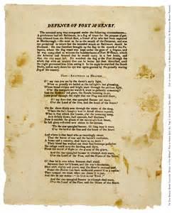 Star Spangled Banner Original Poem