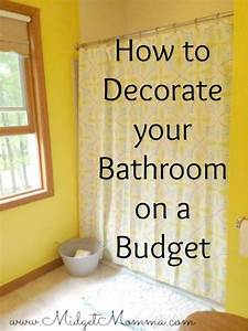 How to decorate a bathroom on a budget 28 images for How to decorate a bathroom on a budget