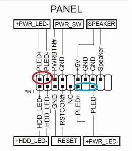 Asus Z170 Pro Gaming  Conectores Para El Power Led   U00bfcuales Usar   Y Otras Dudas
