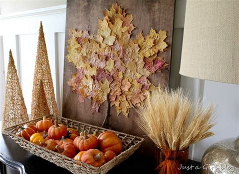 fall craft decorations fall decor crafts easy fall leaf art projects family holiday net guide to family holidays on