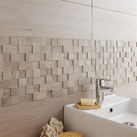 carrelage adhesif salle de bain carrelage mural adh 233 sif leroy merlin