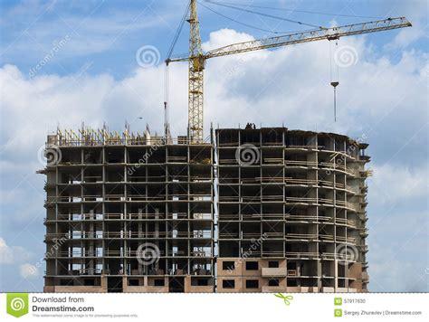 b 226 timent r 233 sidentiel en b 233 ton monolithique en construction photo stock image 57917630