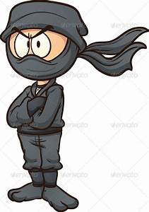 Cartoon Ninja Clipart - Clipart Suggest