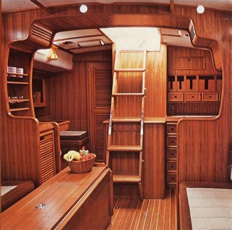 Wooden Boat Interiors by 17 Best Images About Sailboat Interior Pins On