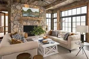superbe maison de campagne a illinois au design interieur With maison de campagne decoration interieur