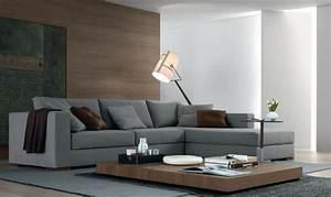 Braune Möbel Wandfarbe : 1001 sofa grau beispiele warum sie ein sofa genau ~ Markanthonyermac.com Haus und Dekorationen