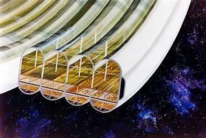 wordlessTech | Impressive 1970s NASA Space colonies ...