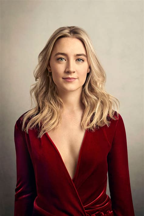 Saoirse Ronan Photoshoot For The Hollywood Reporter