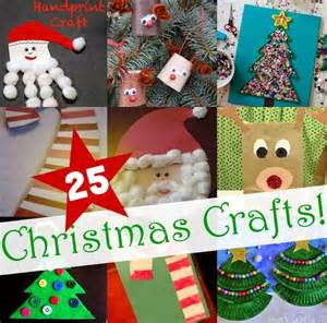 25 easy christmas crafts for kids diy craft projects