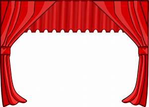 Theater curtains clip art at clkercom vector clip art for Theatre curtains clipart