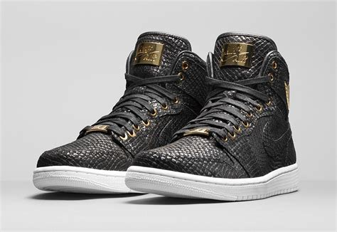 Air Jordan 1 Black and Gold Pinnacle