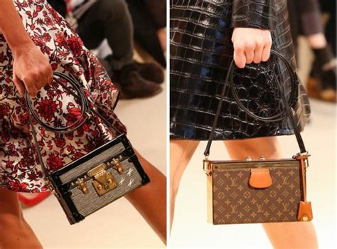 miniature trunk purses petite malle bag