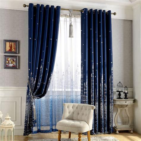 Boys Bedroom Curtain Ring Top Door Curtain Window Voile