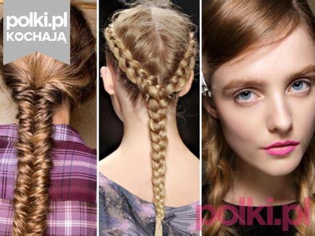 fryzury  warkoczykami  boku
