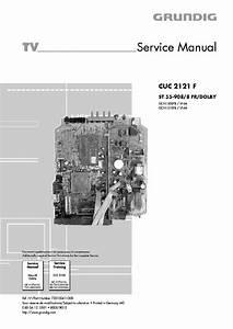 Grundig Cuc 2121 F 2100 Service Manual Download