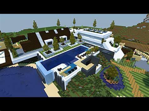 minecraft map maison moderne minecraft maison moderne conceptuelle 1 2