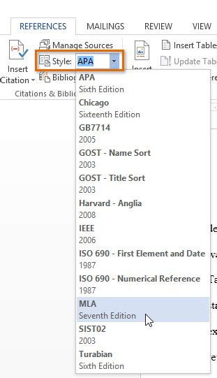 word tips how to create a bibliography or works cited page in word
