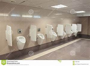 Modern Urinals Royalty Free Stock Images - Image: 13661599