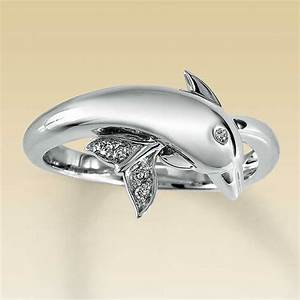 dolphin diamond engagement and wedding ring setting With dolphin wedding ring