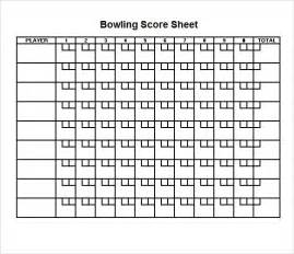 Basketball Sheet Template Excel Sle Bowling Sheet 8 Documents In Pdf Psd Word Excel