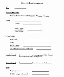 boat partnership agreement template - 39 lease agreement forms sample templates