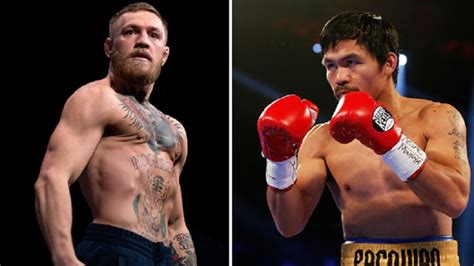 conor mcgregor  hes   fight manny pacquiao