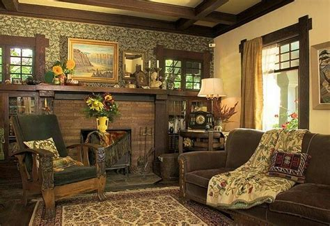 Bungalow 8 Home Decor : 17 Best Images About Craftsman Style Fireplaces On
