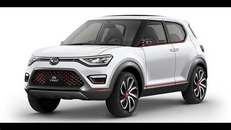 Daihatsu Suv by 2018 Daihatsu Dn Trec Compact Suv