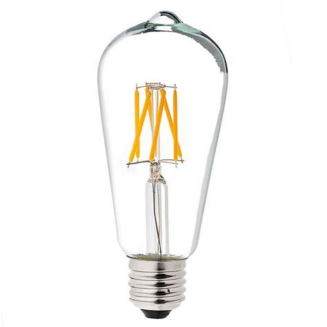 led vintage light bulb st18 shape edison style antique