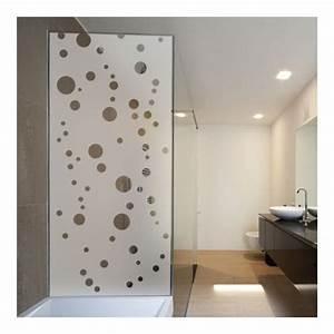 sticker depoli pour paroi de douche depoli design With salle de bain design avec film adhésif décoratif
