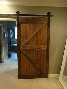 fascinating barn wood sliding single rustic doors for With barn wood bifold doors