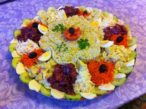 decoration de salade sur assiette salade compos 233 e pour grande tabl 233 e entr 233 e salade salades compos 233 es salades et