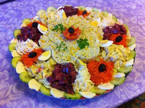 cuisine orientale pour ramadan salade composée pour grande tablée entrée salade