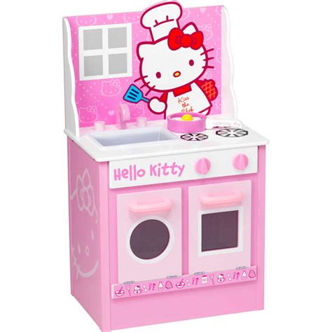 hello kitty kitchen set hello kitty classic kitchen play set walmart