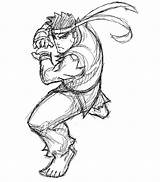 Ryu Fighter Street Coloring Msp Samuraiblack Deviantart Template Coloriages Ws Credit Larger Favourites Sketch sketch template