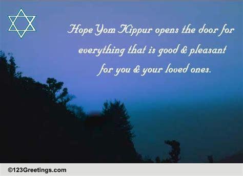 heartfelt wishes  yom kippur  yom kippur ecards