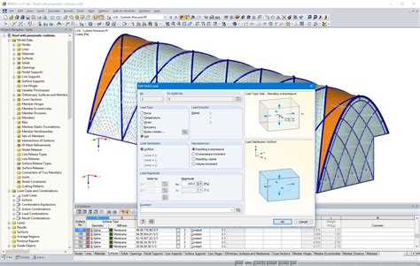 analysis design software  tensile membrane structures
