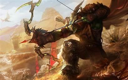 Wow Hunter Warcraft Troll Orc Pc 4k