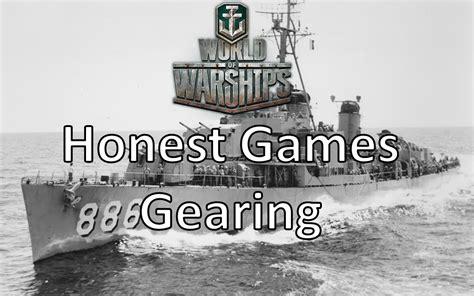 Worldofwarshipshonestgamesgearing  Ship Rage