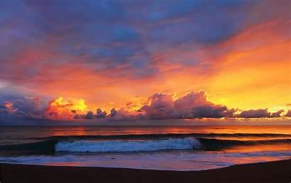 Sky Sunrise Wallpapers Laut Indah Alba Yang