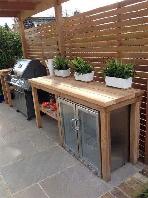 diy outdoor kitchen ideas  designs house living