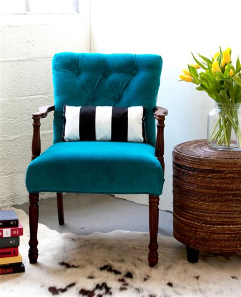 How To Upholster A Chair by How To Upholster A Chair Attaching The Outside Back