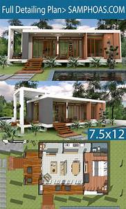 Sketchup Speed Build Home Design 7 5x12m
