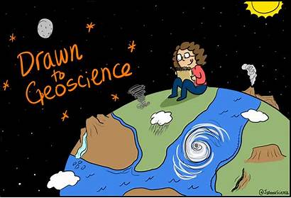 Geoscience Drawn Scientist Agu Hanlon Shane Sciencecommunication